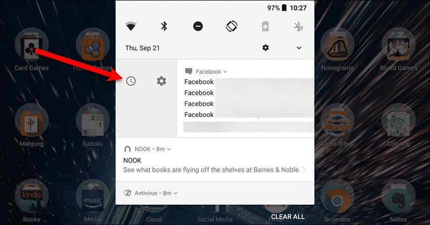 posponer notificaciones android oreo
