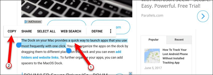 compartir portapapeles entre Android y ordenador