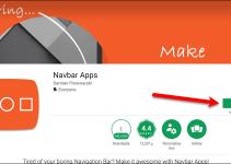 Personalizar barra de navegación celular