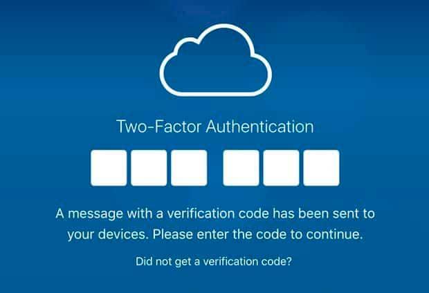 autentificacion icloud en 2 pasos