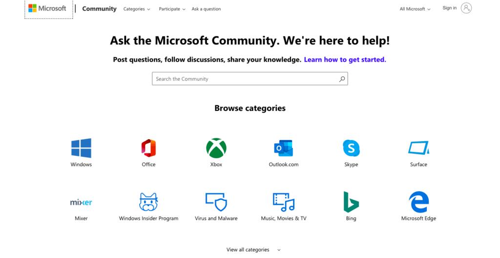 Obtén ayuda en Windows 10