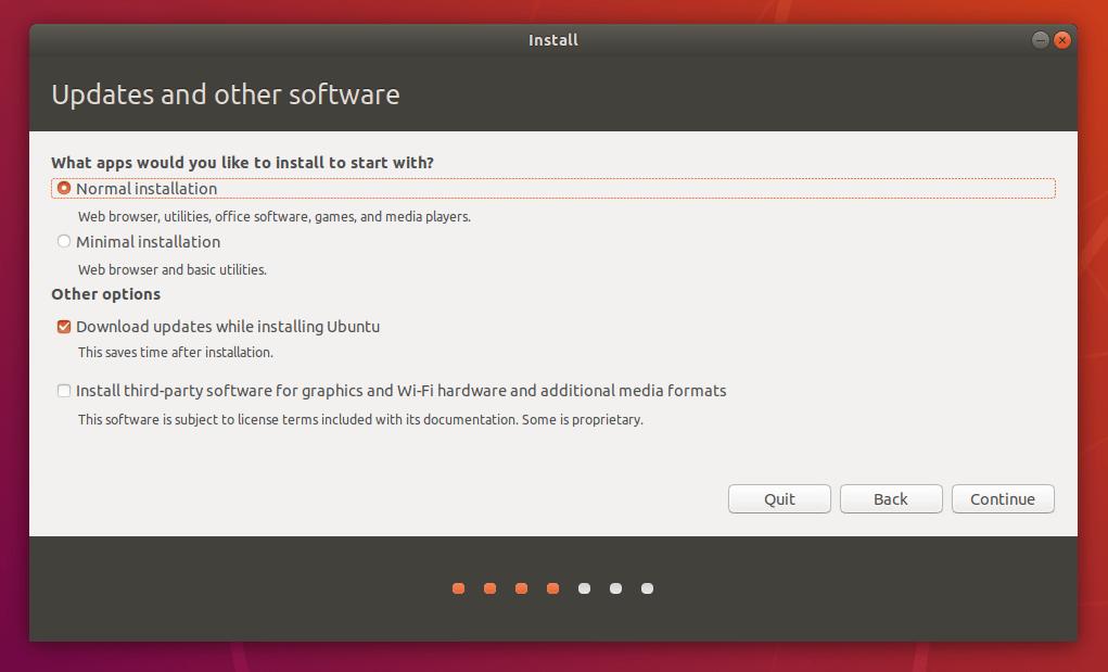 Descarga del sistema operativo Linux