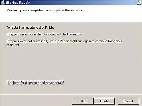 Reinicia tu computadora