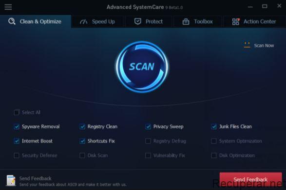 AdvancedSystem Care mejorar rendimiento pc