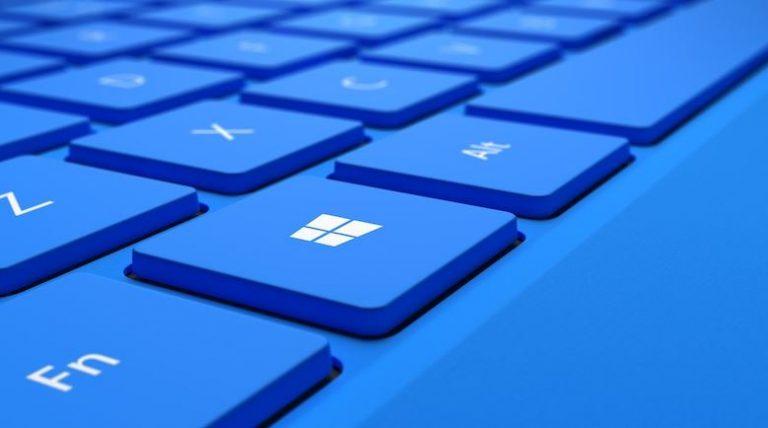 Boton de windows en el teclado