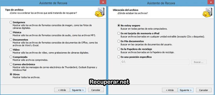 recuva gratis en español