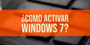Cómo activar Windows 7 sin programas en 2020