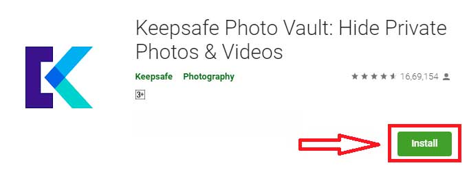 descargar keepsafe photo vault