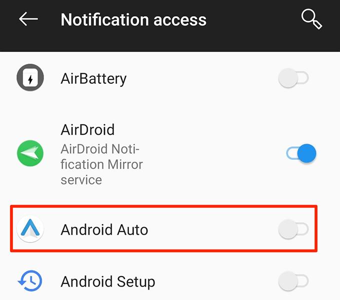 activar android auto
