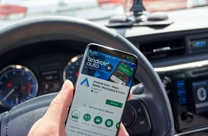 android auto sin cable