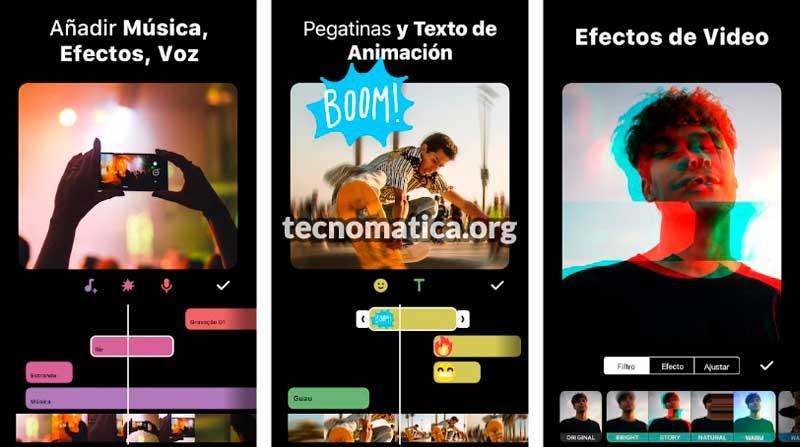 inshot app para hacer videos con fotos
