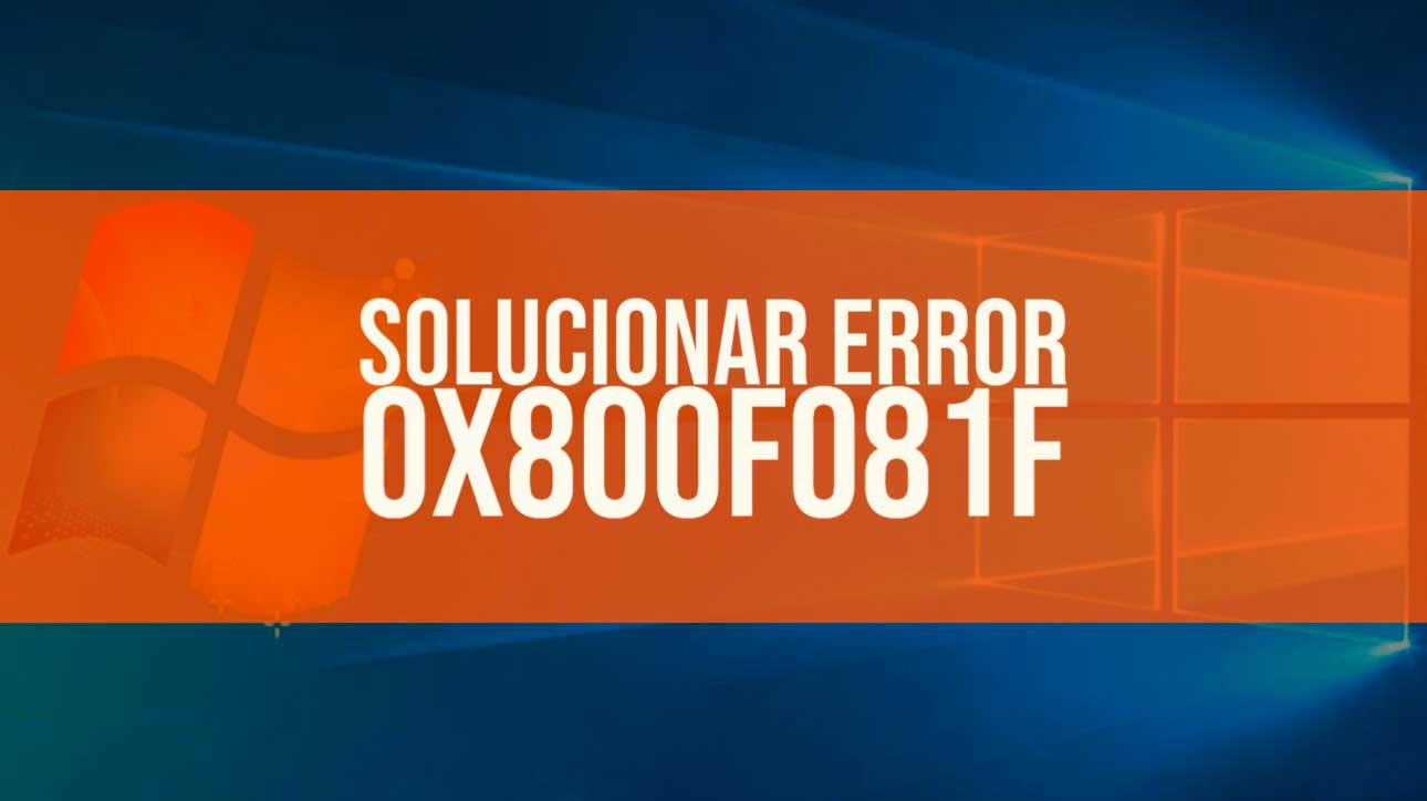 error 0x800f081f