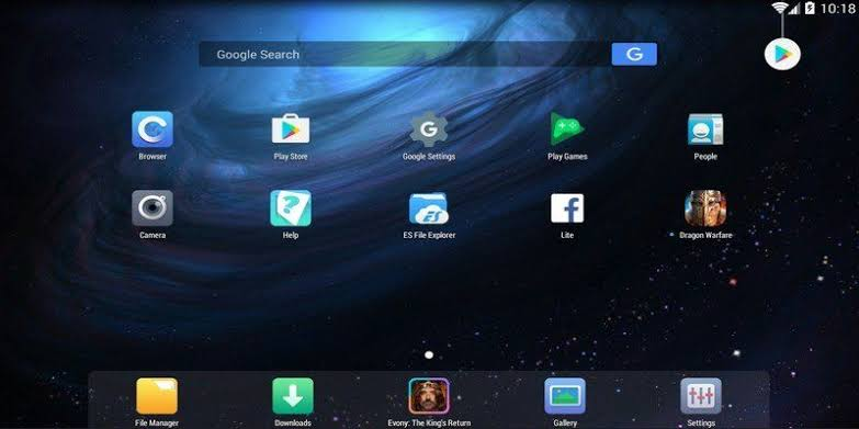 emulador de android Nox App Player