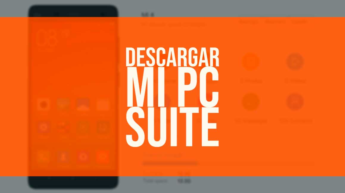 Descargar Mi PC Suite