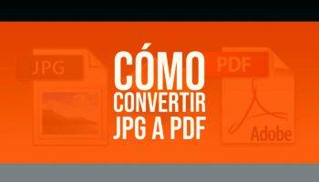 Cómo convertir una imagen JPG en un archivo PDF